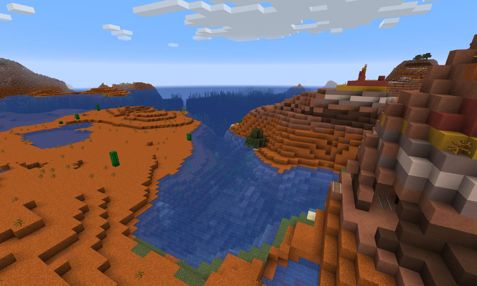 Minecraft Badlands Seed - Java Edition