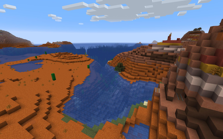 Minecraft Badlands Seed - Java Edition