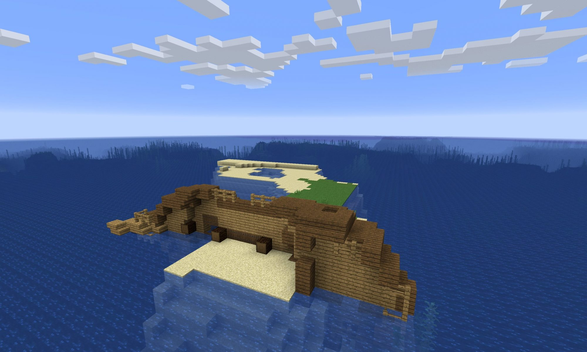 Minecraft Shipwreck Seed - Minecraft Survival Island Seed