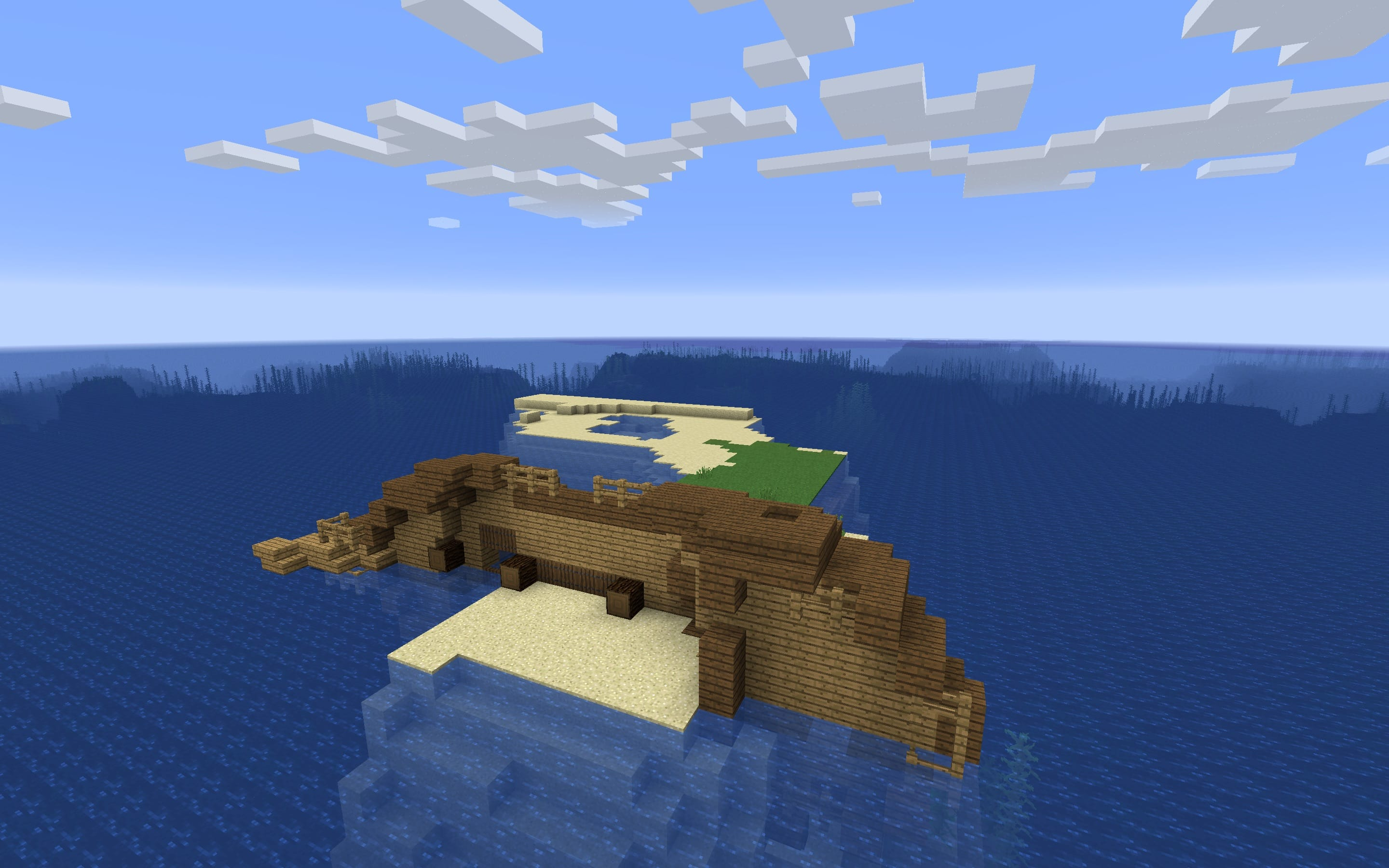 Minecraft Survival Island Top 3 Seeds 1 2 Also Artomix C1 Marooned Shipwreck On Seed Hq