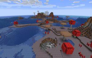 Mushroom Island Seed for Minecraft 1.13
