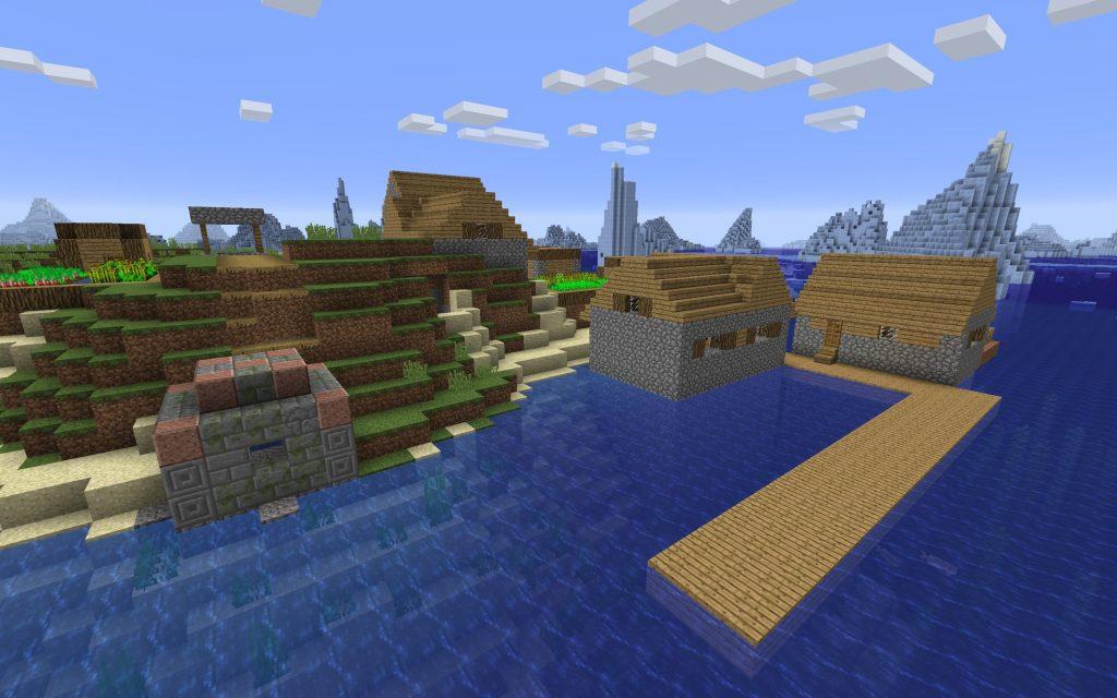 Ocean Ruin Minecraft Seed