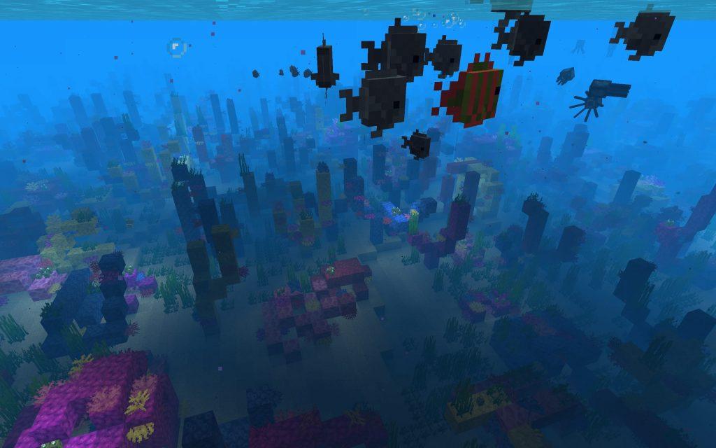 Tropical Fish, Coral
