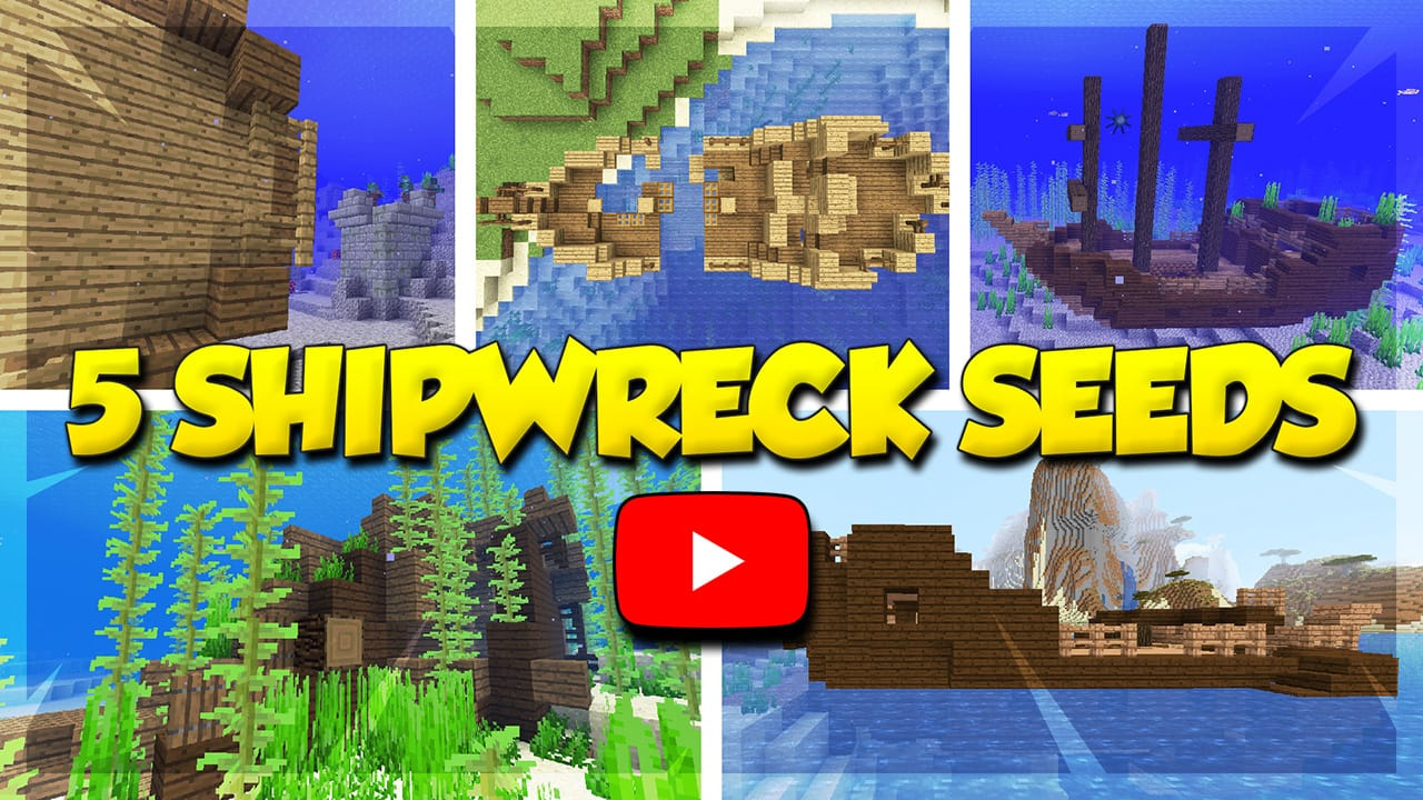 Top 5 Best Minecraft Shipwreck Seeds for 1.13