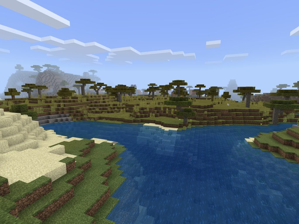 Blacksmith Seed Village - Minecraft PE/Bedrock Edition