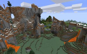 Minecraft Mountain Seed