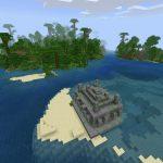 Offshore Jungle Temple for PE/Bedrock