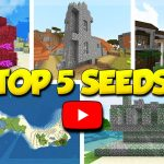 Top 5 Minecraft Seeds - Oct 2018