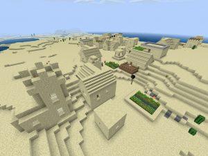 Minecraft PE City Seed