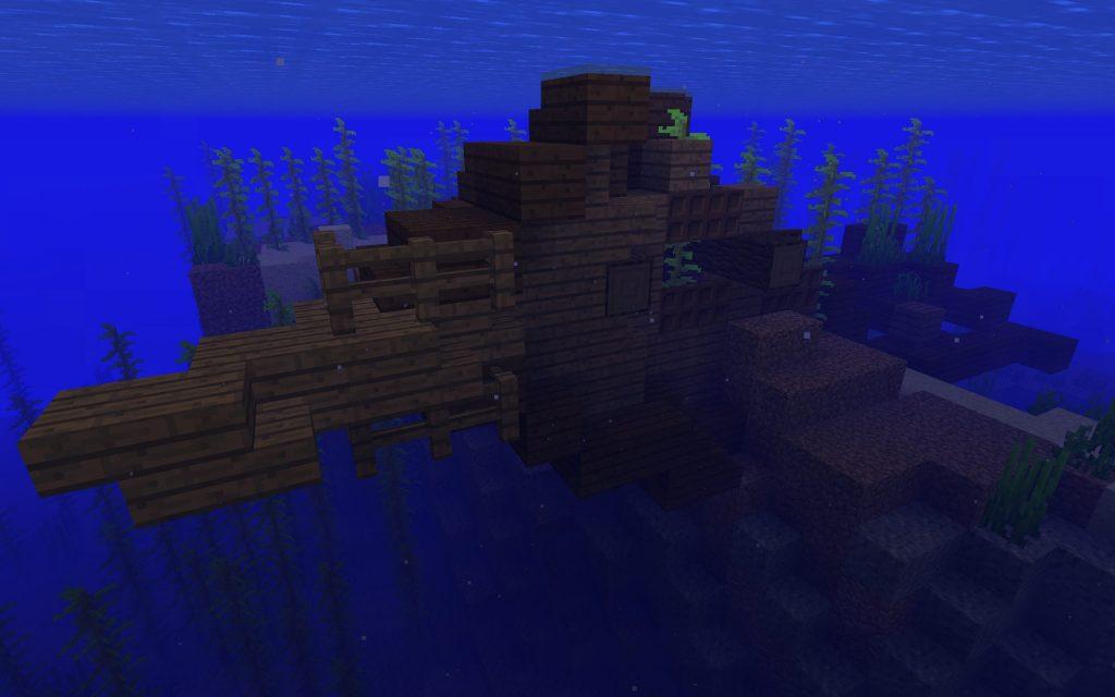 Minecraft Shipwreck Seed - PC/Mac