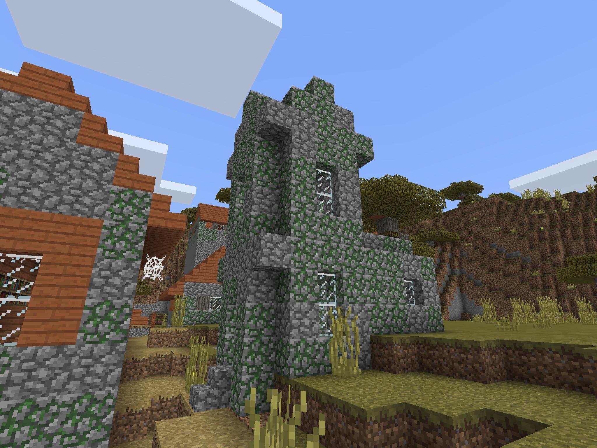Zombie Village MCPE Seed
