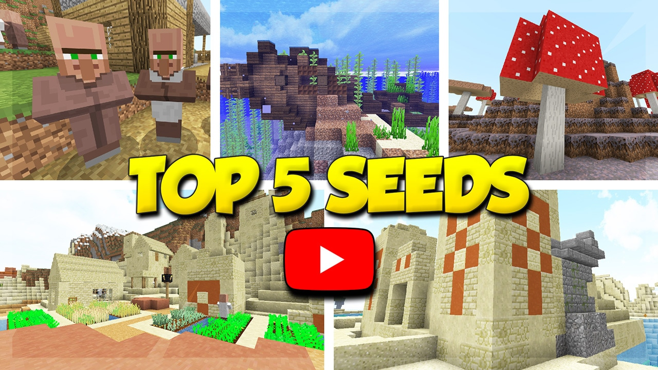Top 5 Minecraft Seeds Video