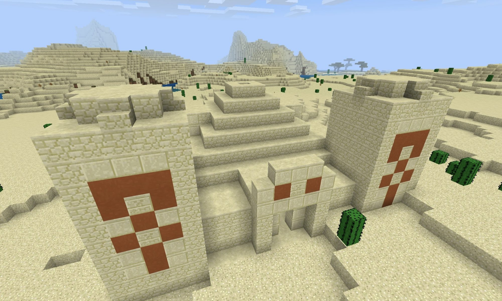 Desert Temple Seed for Minecraft PE
