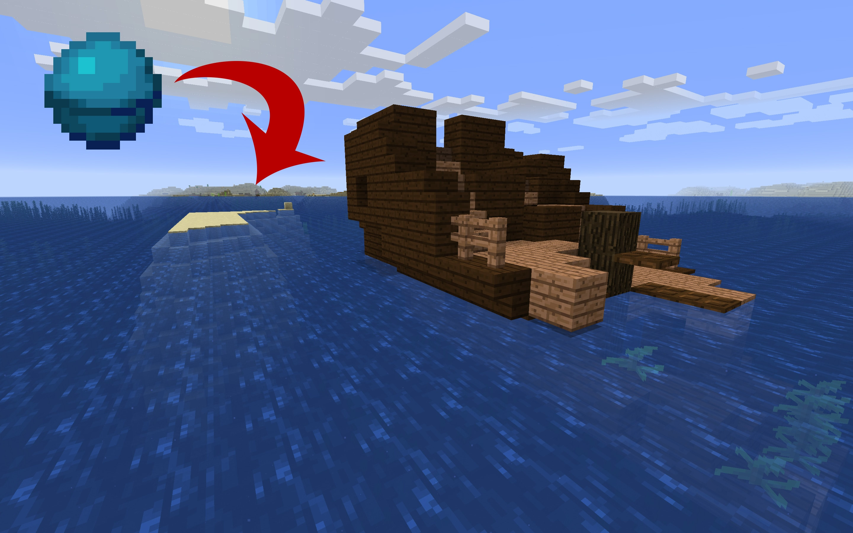 Heart of the Sea - Minecraft Java Edition Seed
