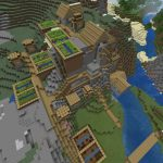 Minecraft PE Seed - Mountain Village