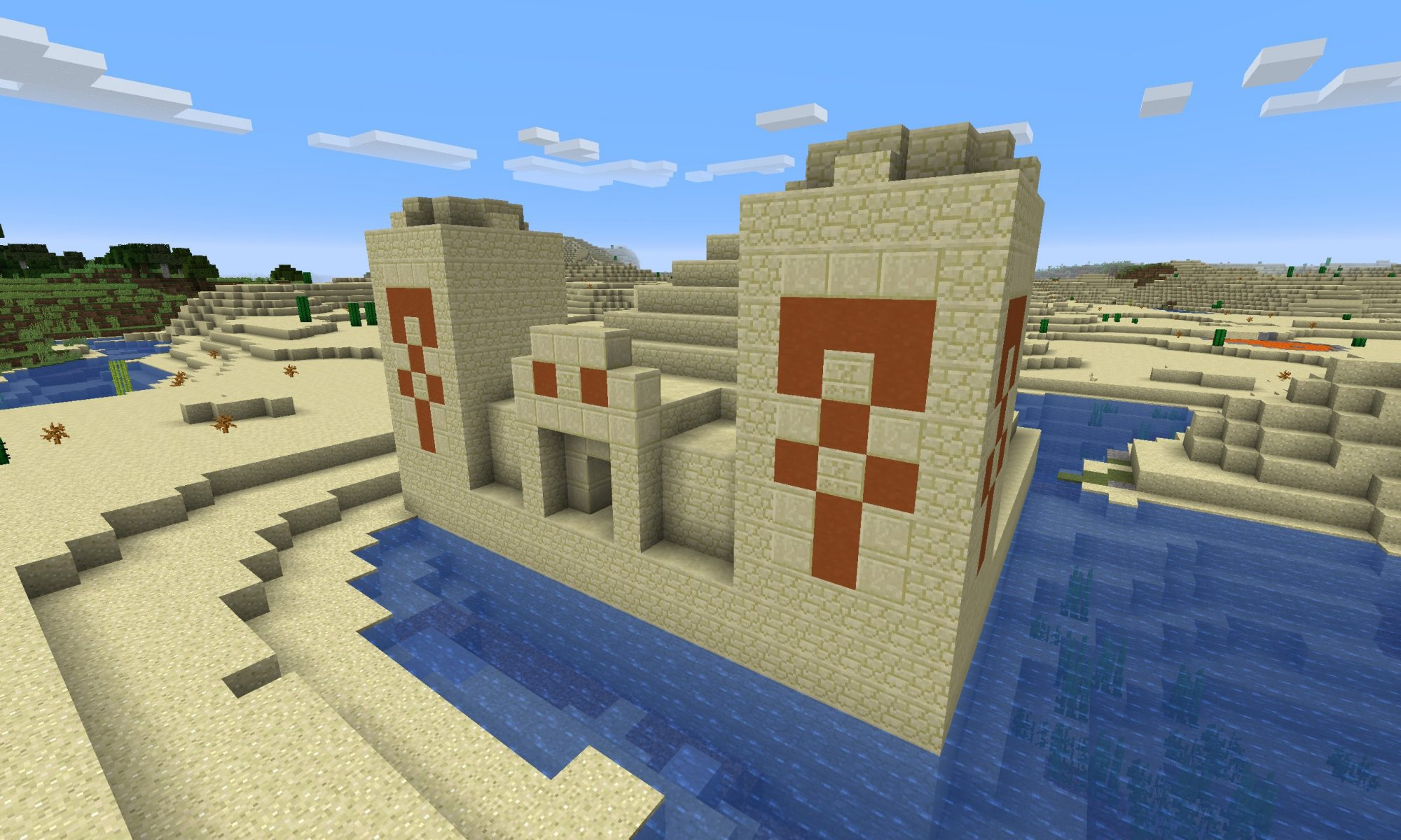 Minecraft Seeds - Pyramid - Java