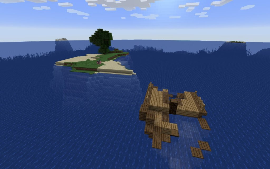 Minecraft Seed - Ghost Ship