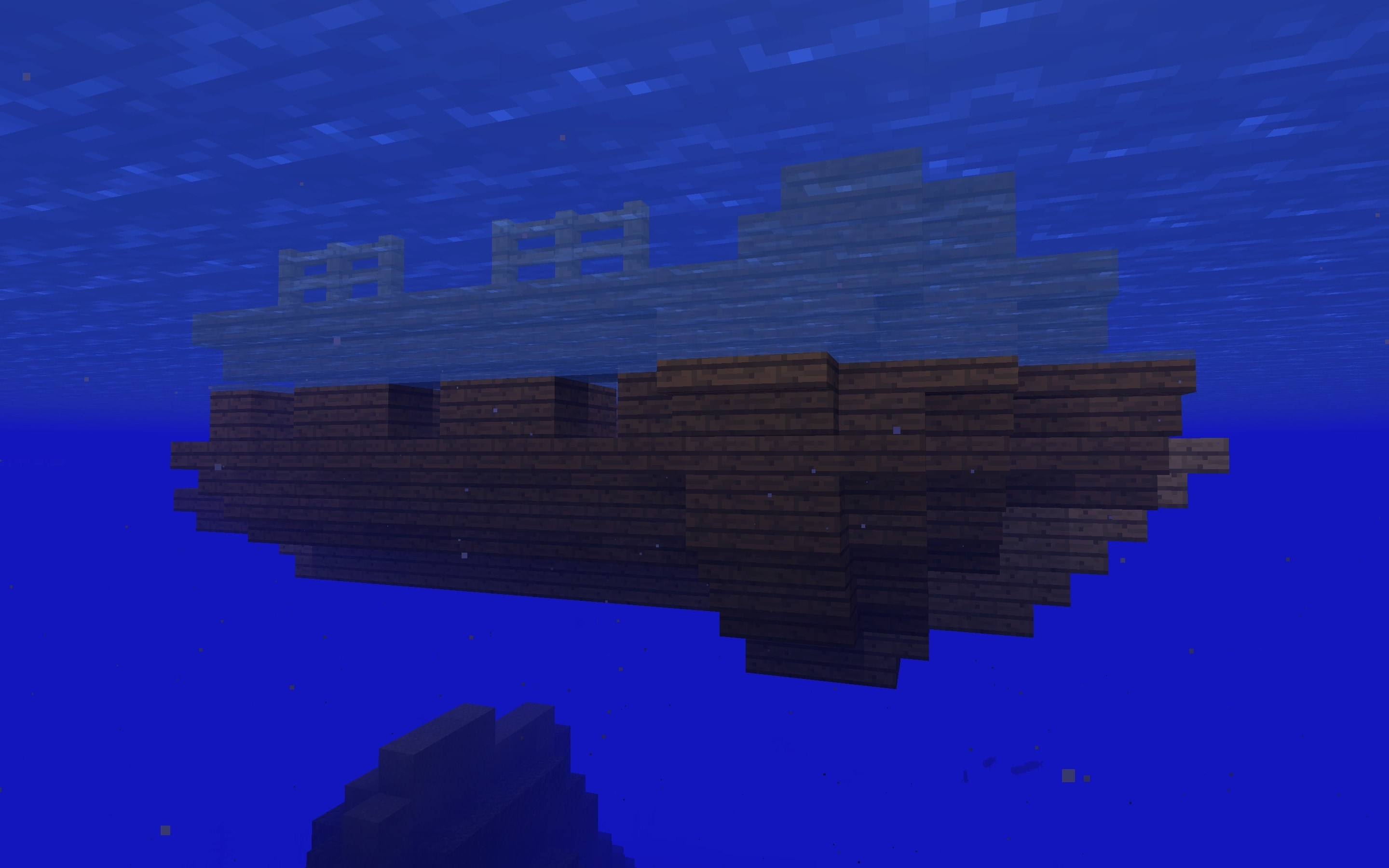 Minecraft Seed - Shipwreck - Free Floating