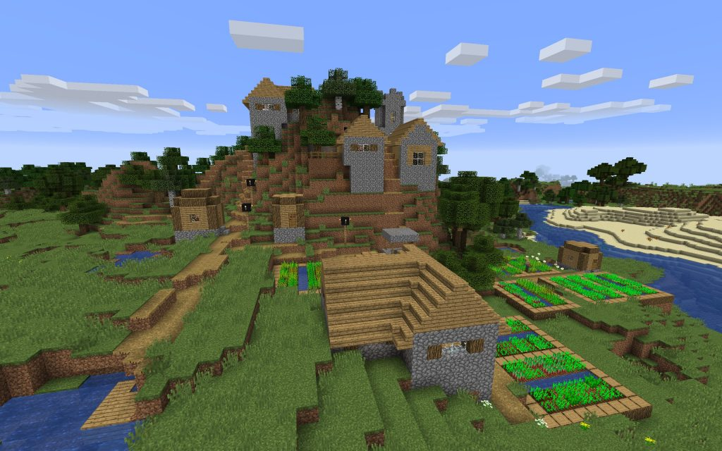Mountain Village in this Seed