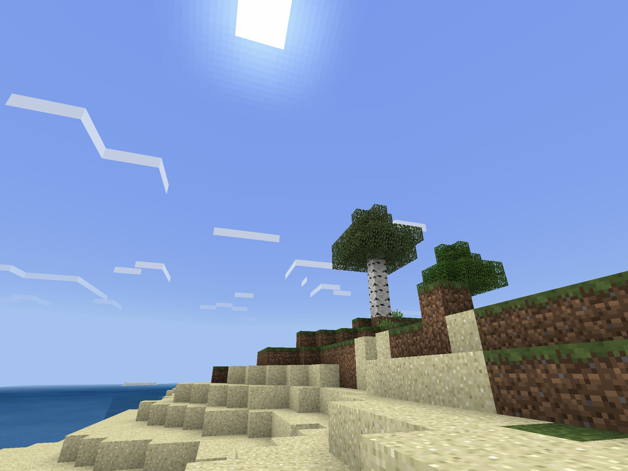Survival Island Minecraft PE Seed