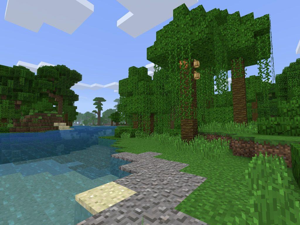 Jungle Biome Spawn - Bedrock/PE