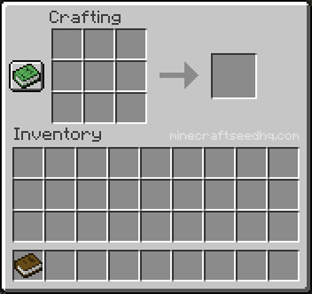 Minecraft Make a Book - Step 3