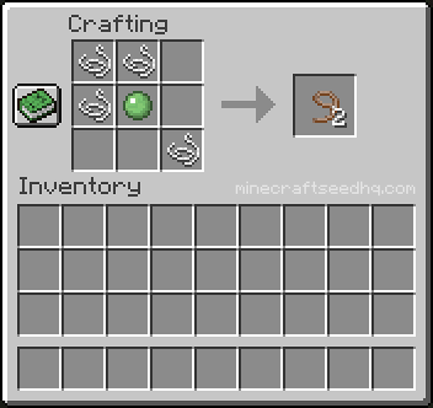 Minecraft Make Lead - Crafting Recipe