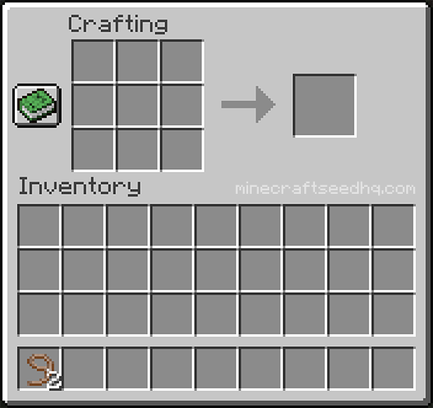 Minecraft Make Lead - Step 3