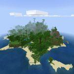 Minecraft PE Island Seed