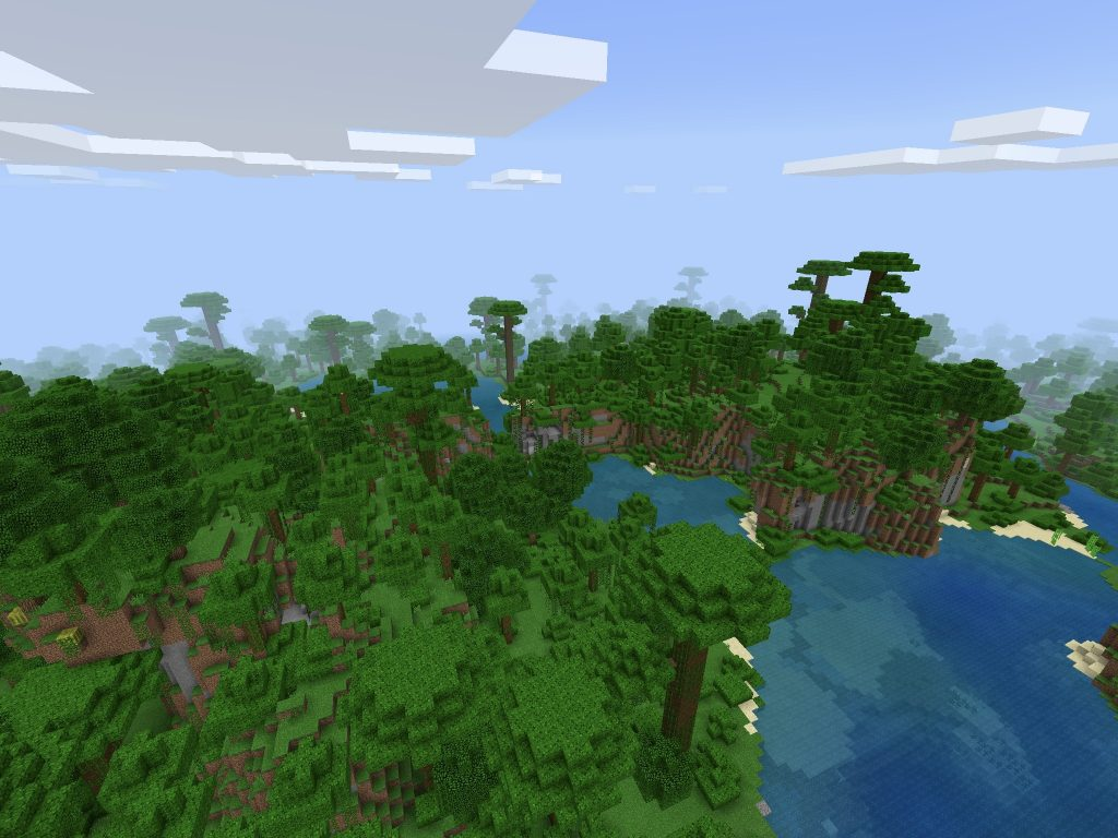Giant Jungle Seed for Pocket Edition - Minecraft Seed HQ