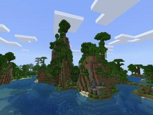 Minecraft PE Jungle Seed