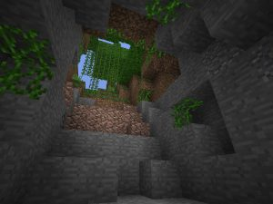 Minecraft PE Seed - Jungle Stairwell