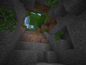 Minecraft PE Seed - Jungle Stairwell