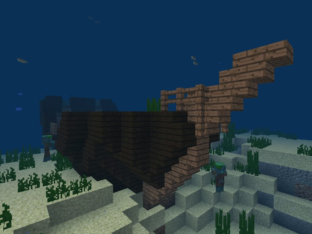 Shipwreck Seed with Buried Treasure Map (Bedrock/PE)