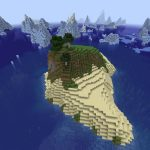 Minecraft Seed: Island in Iceberg Alley