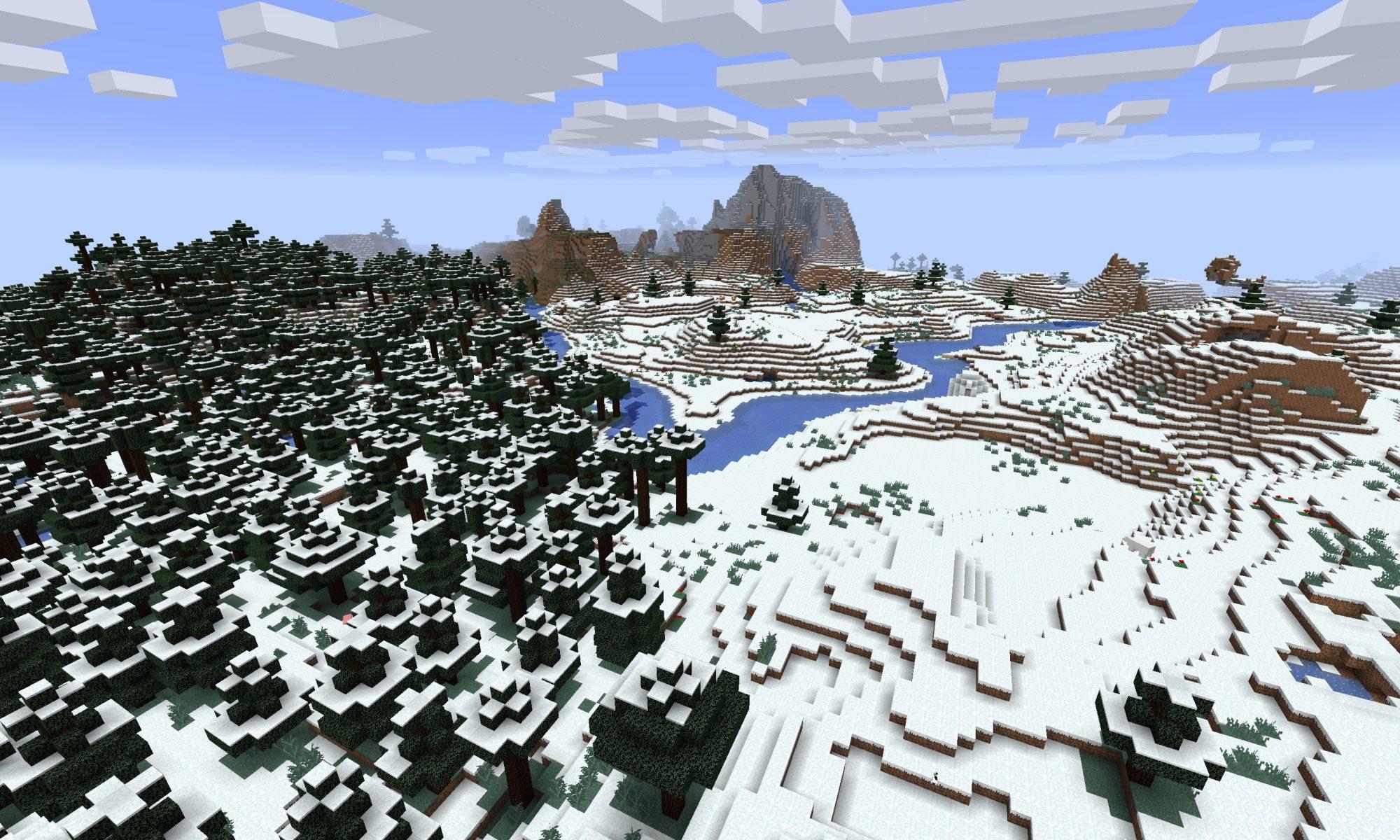 Minecraft Snow Seeds Minecraft Seed Hq