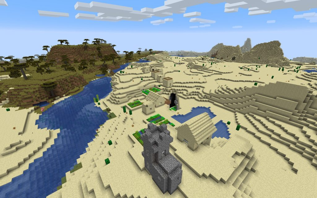 Desert, River and Savanna Biomes