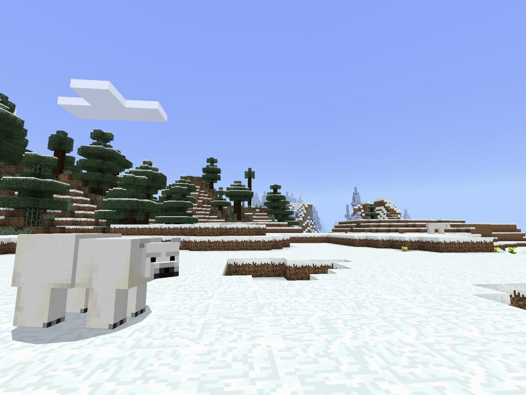 Polar Bear/Ice Plains Biome