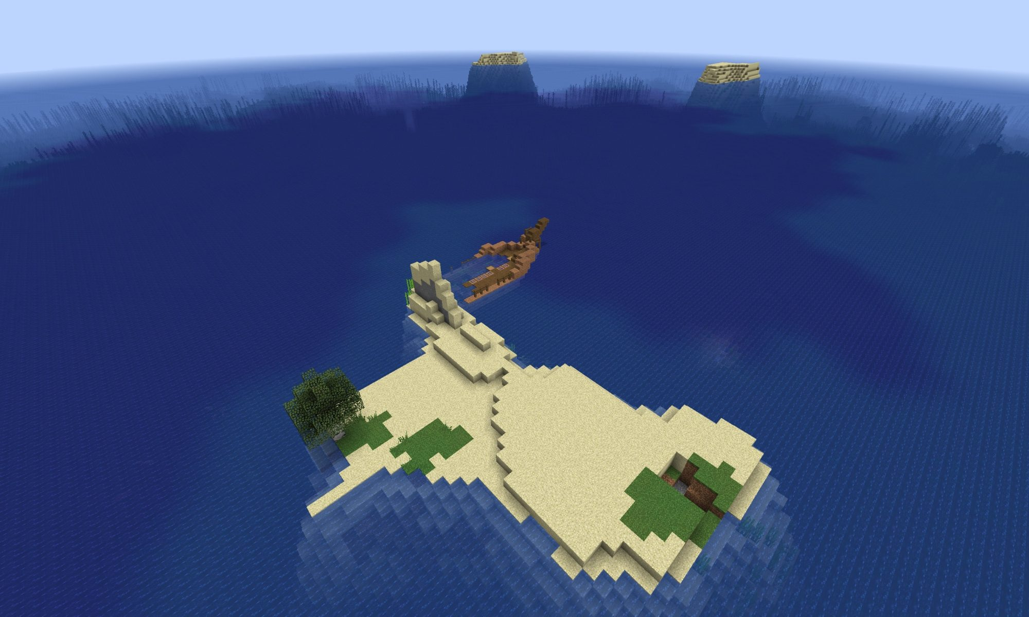Shipwreck Survival Island - Minecraft 1.13 Seed - Minecraft Seed HQ
