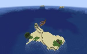 Shipwreck Survival Island Minecraft Seed