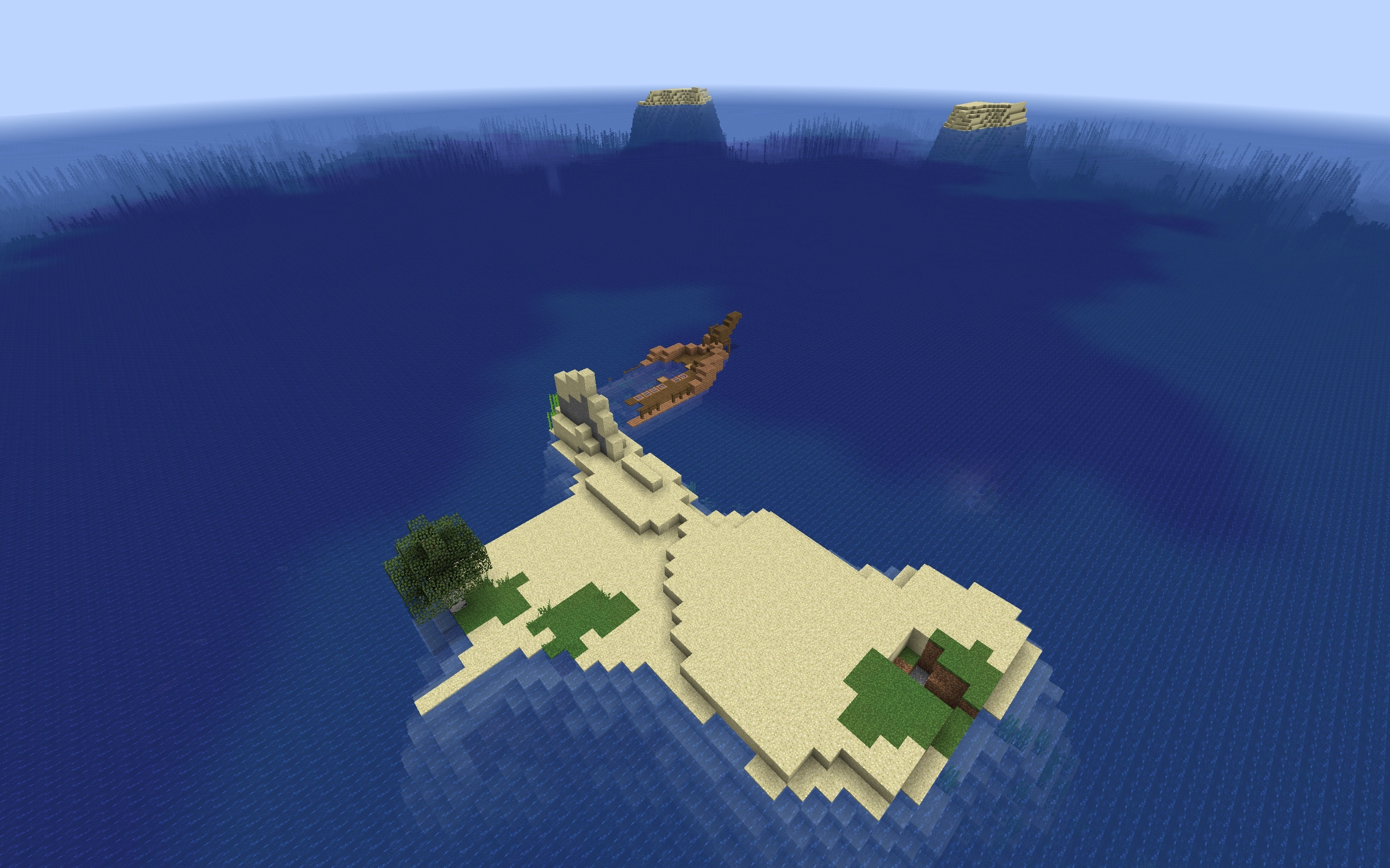 Minecraft Shipwreck Seed