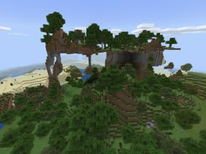 Minecraft PE/Bedrock Seed - Extreme Hills/Mountain
