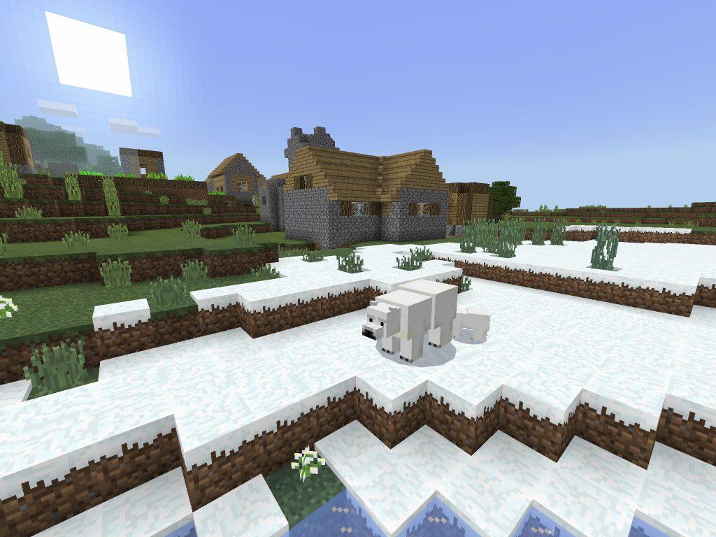 Blacksmith Village on Snowy Shore [PE]