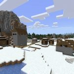 Snow Village Seed for Minecraft PE/Bedrock