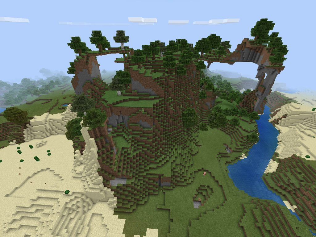 Two Land Bridges - Plains Biome