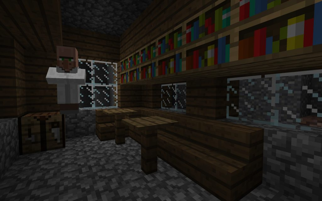 Village Librarian in Ravine
