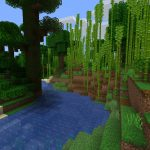 Dense Bamboo Forest in Jungle for Java Edition