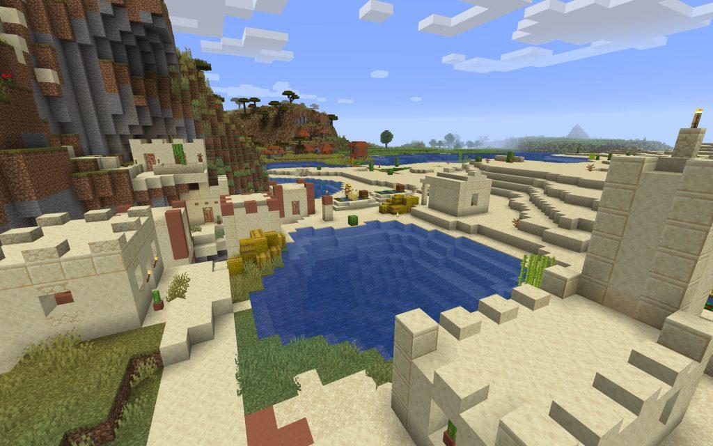 Desert Village, Savanna VillageQ