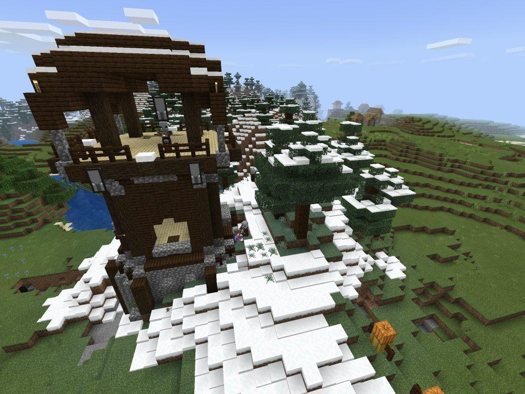#3 Best Minecraft PE Seed