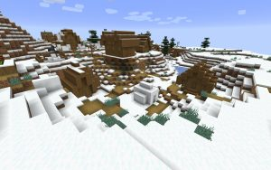 Minecraft Seed - Snow Village - PC/Mac